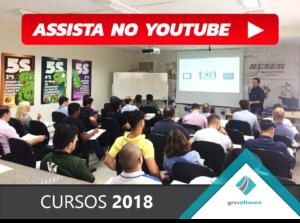 Assista o vídeo com o resumo dos cursos ministrados pela GRV Software em 2018.